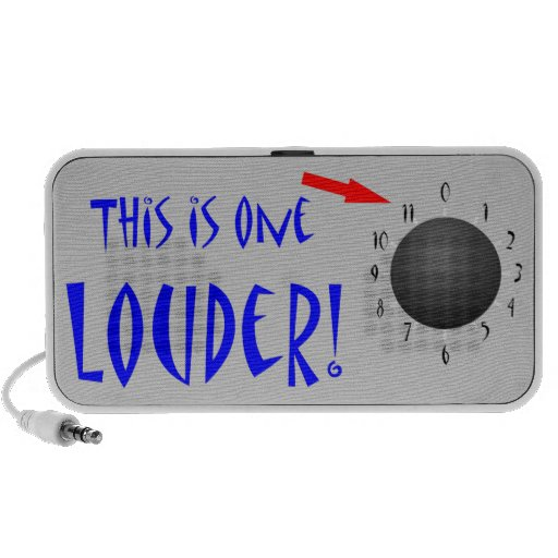 This is One Louder iPhone Speaker