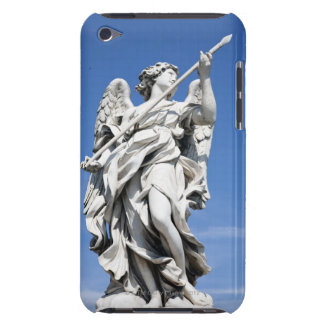 This is one of the angel statues of the famous 2 iPod Case-Mate case