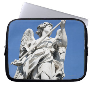 This is one of the angel statues of the famous 2 laptop sleeve