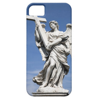 This is one of the angel statues of the famous iPhone 5 cases