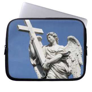 This is one of the angel statues of the famous laptop sleeve