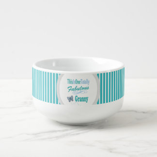 This Is One Totally Fabulous Granny Soup Bowl With Handle