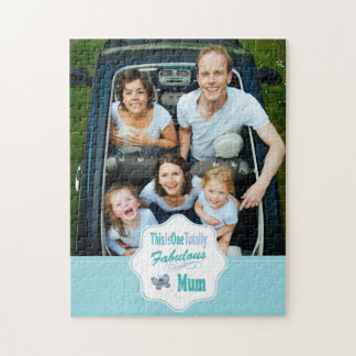 This Is One Totally Fabulous Mum Jigsaw Puzzle