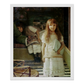 This is our Corner, 1873 (oil on panel) Poster