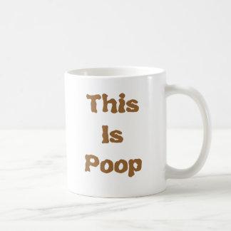 This Is Poop Coffee Mug