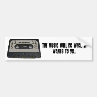 This Is Real Music bumper sticker