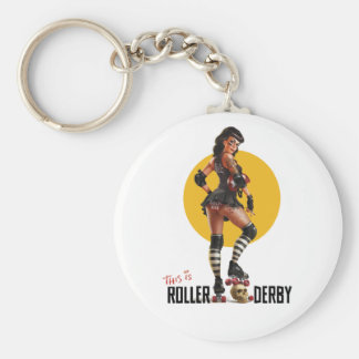 This Is Roller Derby Key Chain