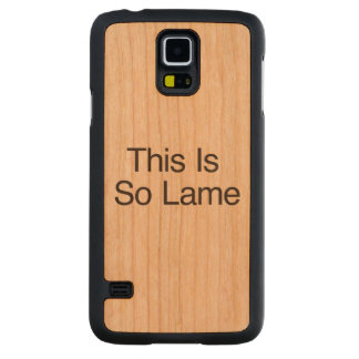 This Is So Lame Carved® Cherry Galaxy S5 Slim Case