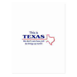 THIS IS TEXAS POSTCARD