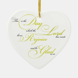 This is the Day Christmas Ornament