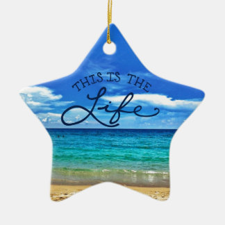 This is the Life Christmas Ornament