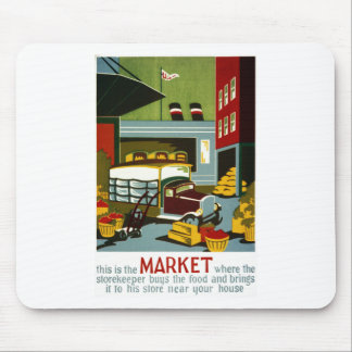 This is the Market Mouse Pad