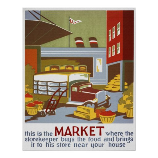 This is the Market Poster