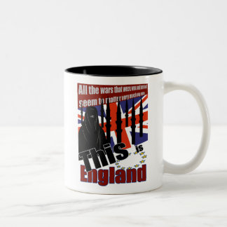 THIS IS THE NEW ENGLAND Two-Tone MUG