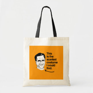 THIS IS THE SCARIEST COSTUME I COULD FIND - ROMNEY CANVAS BAG
