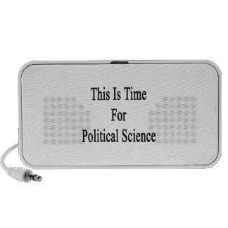 This Is Time For Political Science Travelling Speakers