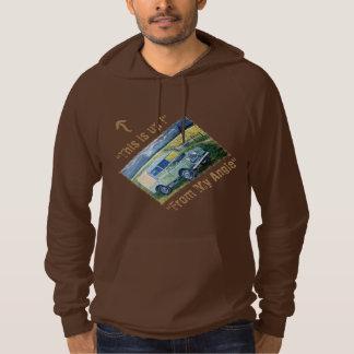 """This is Up ! "" : Hooded Sweatshirt"