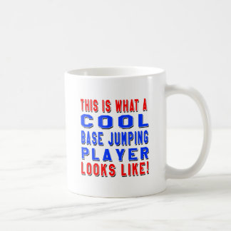 This Is What A Cool Base Jumping Player Looks Like Basic White Mug