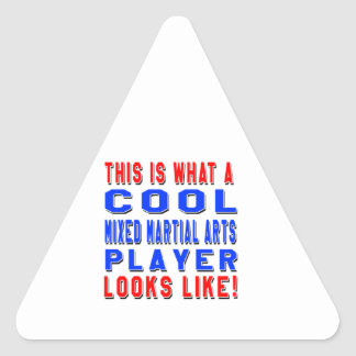 This Is What A Cool Mixed martial arts Player Look Sticker
