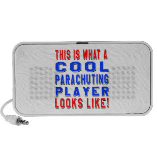 This Is What A Cool Parachuting Player Looks Like Mini Speaker