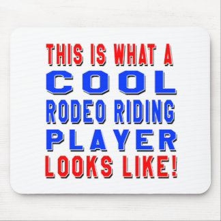 This Is What A Cool Rodeo Riding Player Looks Like Mousepad