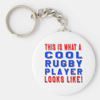 This Is What A Cool Rugby Player Looks Like Key Ring