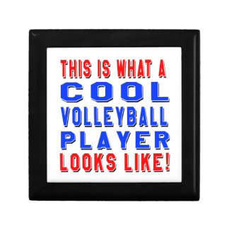This Is What A Cool Volleyball Player Looks Like Jewelry Box