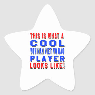 This Is What A Cool Vovinam Viet vo Dao Player Loo Star Sticker