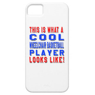 This Is What A Cool Wheelchair Basketball Player L iPhone 5 Cases
