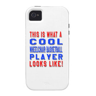 This Is What A Cool Wheelchair Basketball Player L iPhone 4 Case