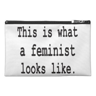 This is what a feminist looks like travel accessories bags