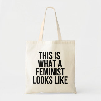 This Is What A Feminist Looks Like - Feminism Tote Bag