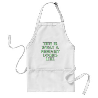 This is what a feminist looks like standard apron