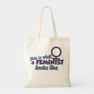 This is what a feminist looks like tote bag