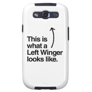 THIS IS WHAT A LEFT WINGER LOOKS LIKE png Samsung Galaxy SIII Cover