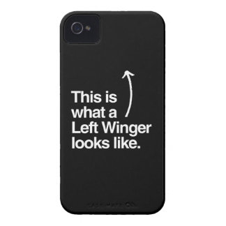 THIS IS WHAT A LEFT WINGER LOOKS LIKE.png Case-Mate iPhone 4 Case