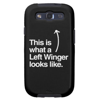 THIS IS WHAT A LEFT WINGER LOOKS LIKE png Samsung Galaxy S3 Covers
