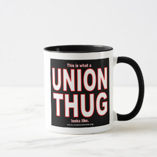 This is what a UNION THUG looks like.