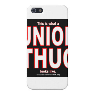 This is what a UNION THUG looks like. iPhone 5/5S Case