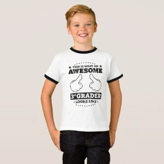 This is What an Awesome 3rd Grader Looks Like T-Shirt