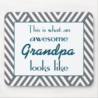 This Is What An Awesome Grandpa Looks Like Mouse Mat