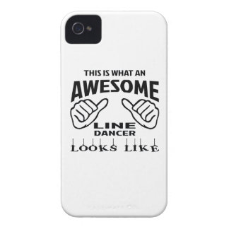 This is what an awesome Line Dance looks like iPhone 4 Case-Mate Case