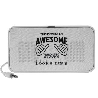 This is what an awesome Parachuting player looks l Travel Speaker