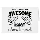 This is what an awesome Salsa Dance looks like Card