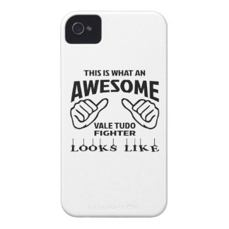 This is what an awesome Vale Tudo Fighter looks li iPhone 4 Case