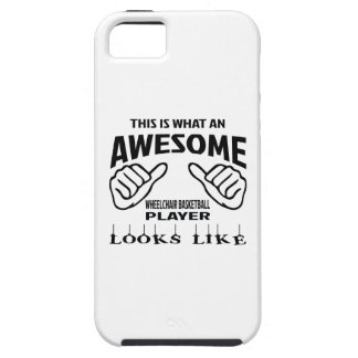 This is what an awesome Wheelchair basketball play iPhone 5 Case