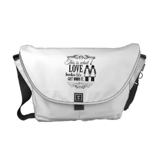 THIS IS WHAT LOVE LOOKS LIKE LESBIAN -.png Messenger Bags