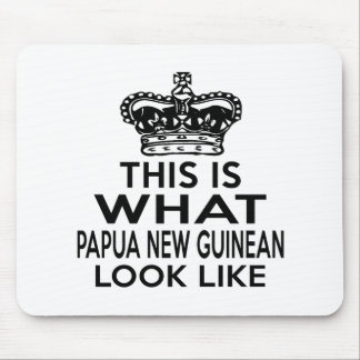 THIS IS WHAT PAPUA NEW GUINEAN LOOK LIKE MOUSE PAD