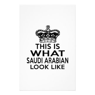 THIS IS WHAT SAUDI ARABIAN LOOK LIKE STATIONERY