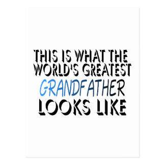 This Is What The World s Greatest Grandfather 2 Postcards